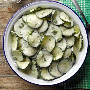 Kansas Cucumber Salad