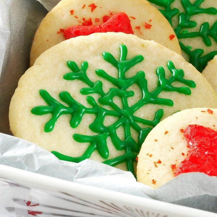 Key Lime Butter Cookies