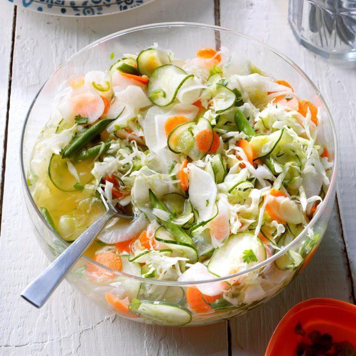 Khmer Pickled Vegetable Salad