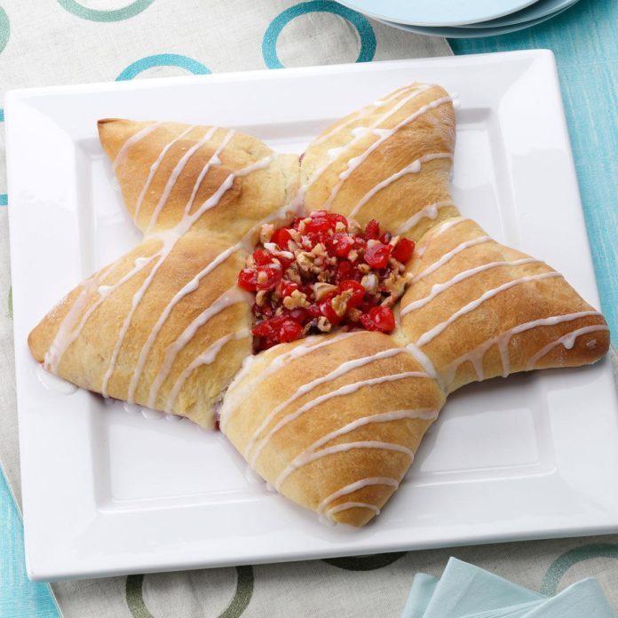 Kris Kringle Star Bread