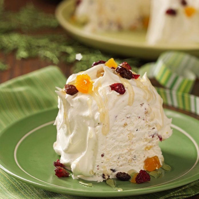 Lancaster Spiced Ice Cream Dessert