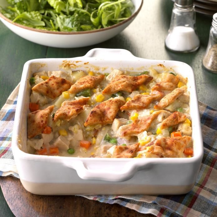 Day 27: Pastry Topped Turkey Casserole