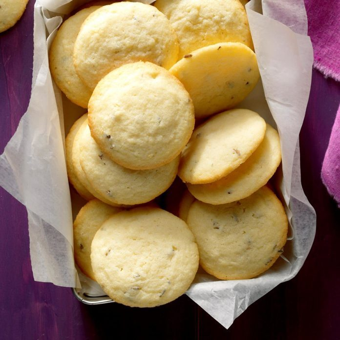 Inspired by Kate's Lavender Shortbread