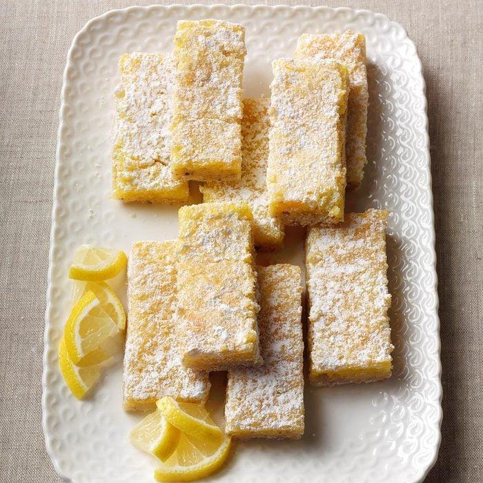 Lavender Lemon Bars