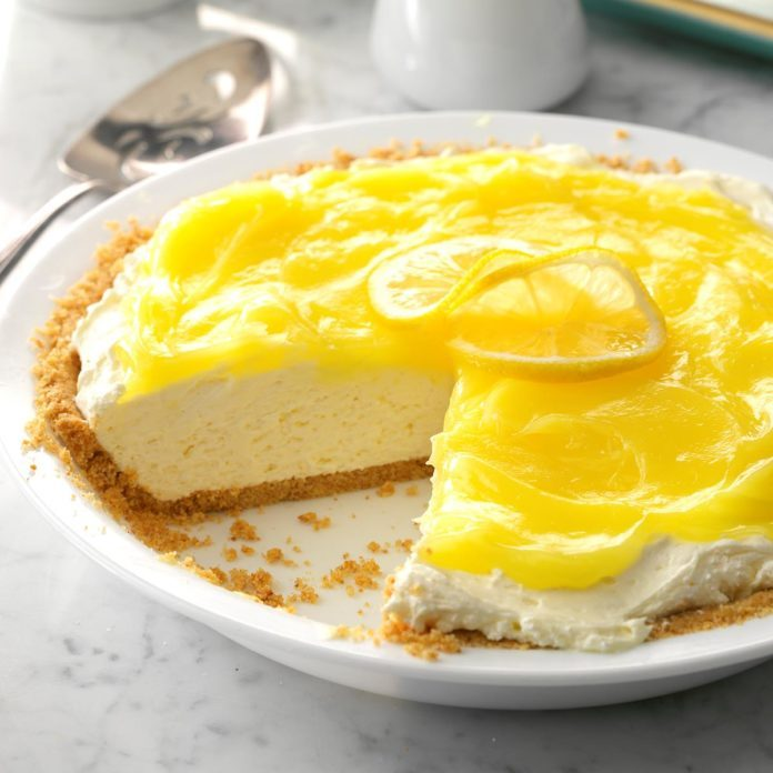 North Dakota: Layered Lemon Pie