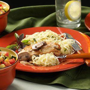 Lemon-Basil Chicken Marsala