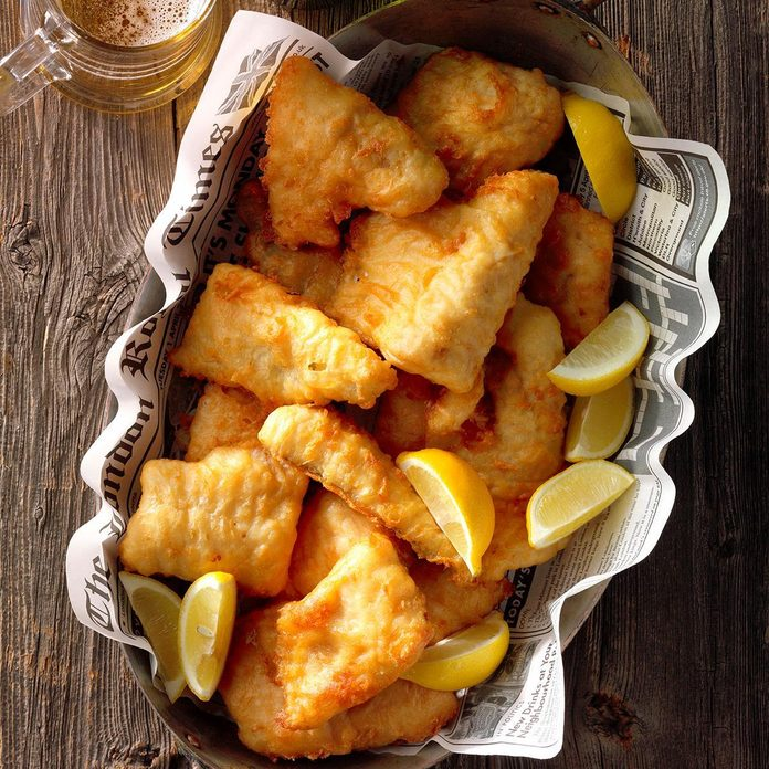 Lemon-Batter Fish