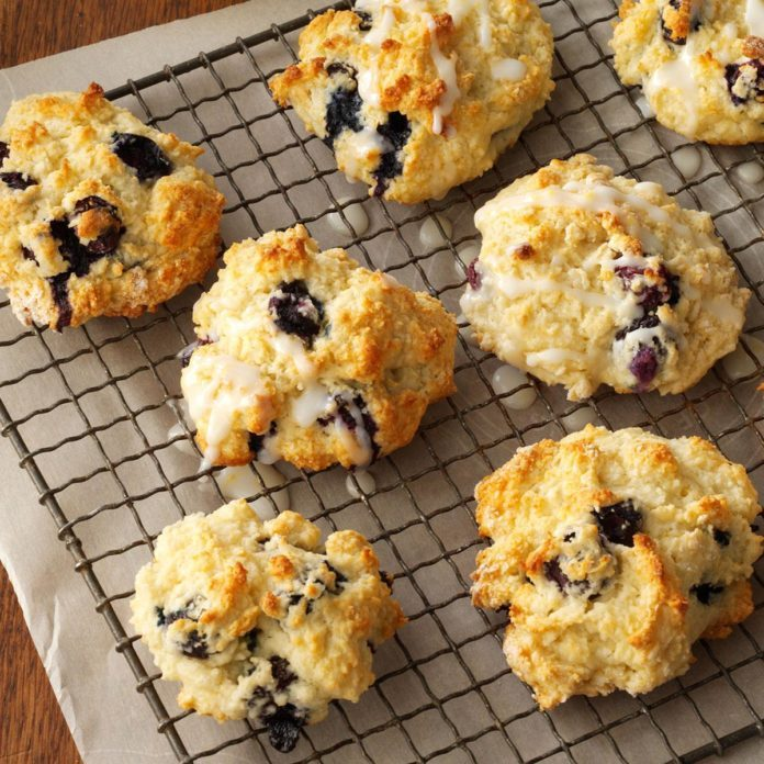 Lemon Blueberry Biscuits