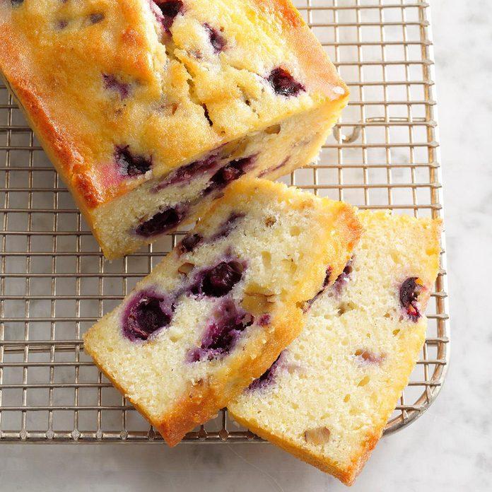 Minnesota: Lemon Blueberry Bread