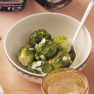 Lemon Brussels Sprouts