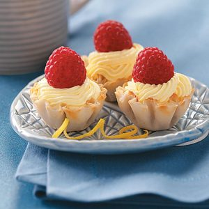 Lemon Burst Tartlets