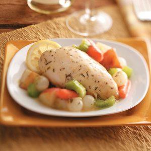 Lemon Chicken Breasts with Veggies