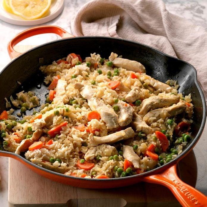Lemon Chicken and Rice
