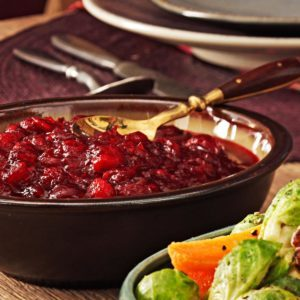 Lemon Cranberry Sauce