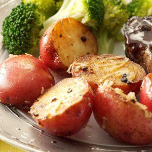 Lemon & Garlic New Potatoes for Two