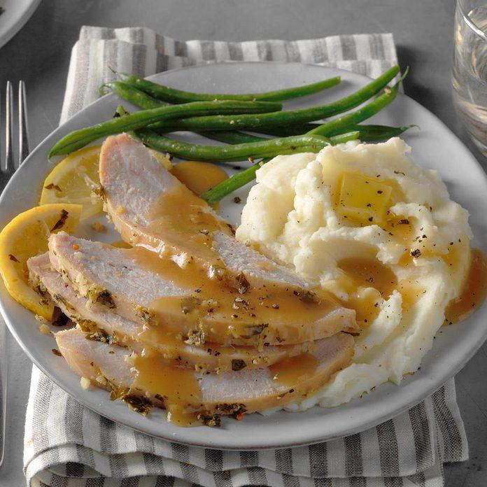 Lemon-Garlic Turkey Breast