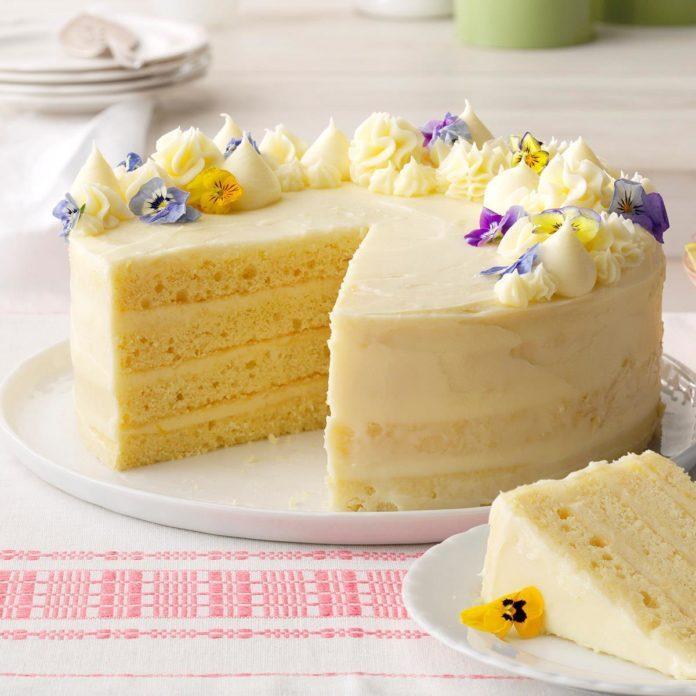 Day 2: Lemon Layer Cake