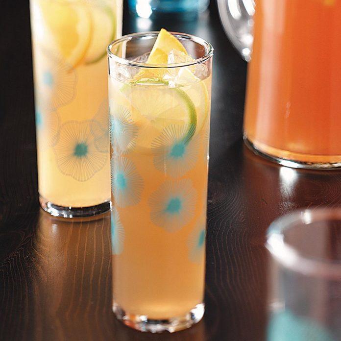 Lemon Lime Almond Tea