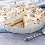 Lemon Meringue Ice Cream Pie