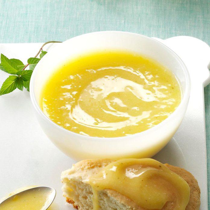Lemon Mint Curd