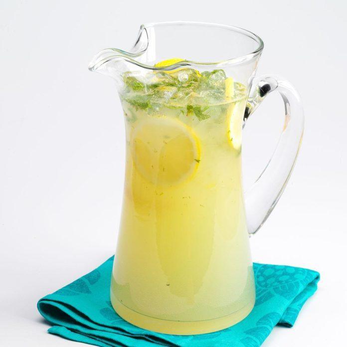 Lemon Mint Spritzer