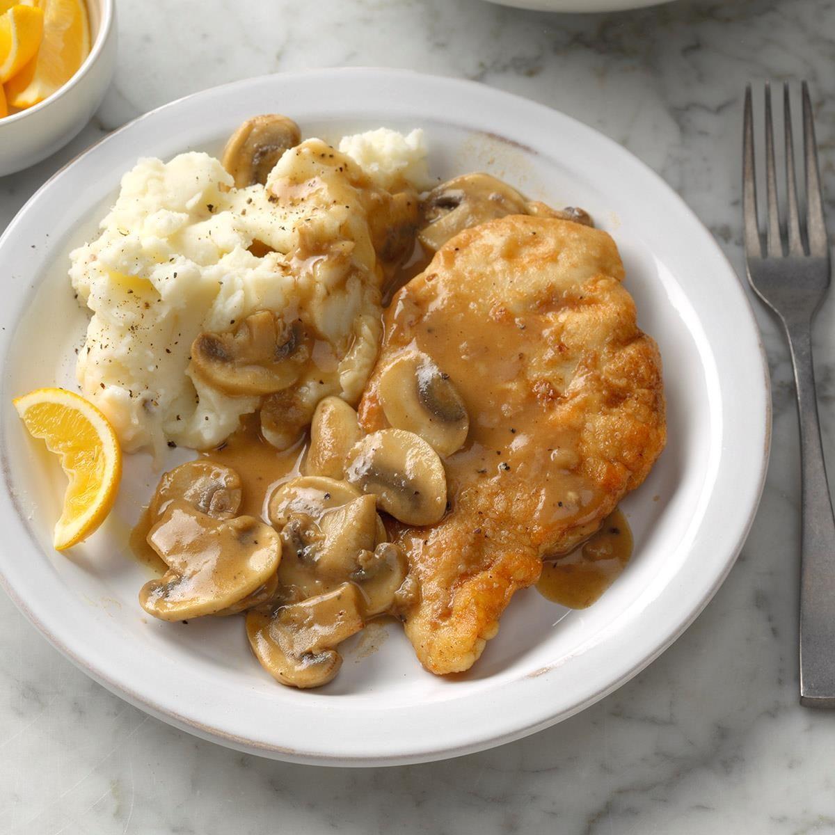 22 Healthy Chicken and Mushroom Recipes