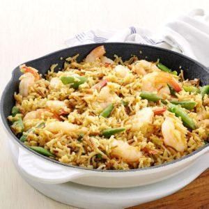 Lemon-Orange Shrimp & Rice
