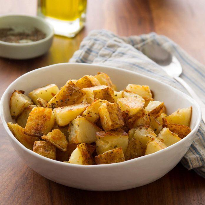 Lemon Oregano Potatoes