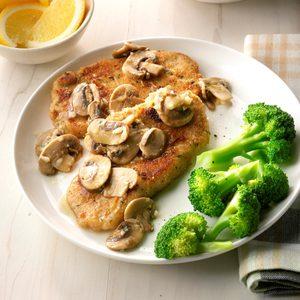 Lemon Pork with Mushrooms