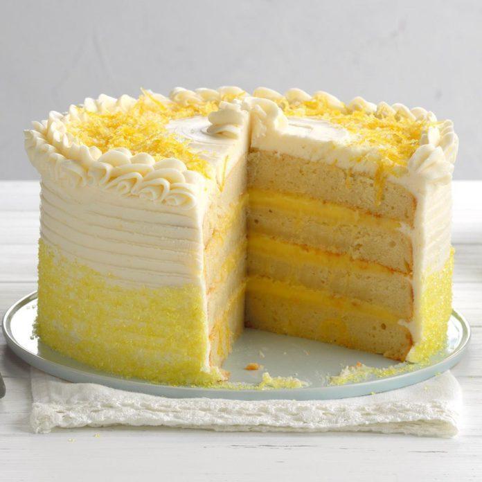Frank Sinatra: Lemon Ricotta Torte