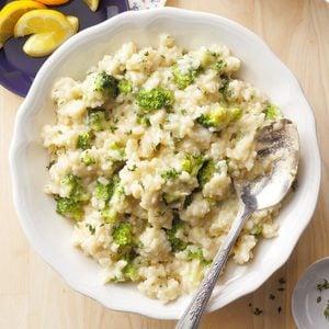 Lemon Risotto with Broccoli
