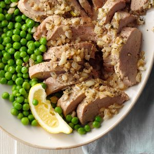 Lemon-Rosemary Pork Tenderloin