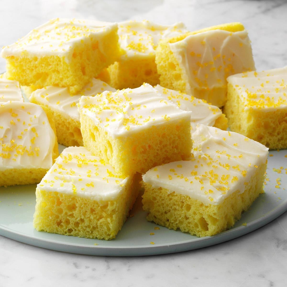 Lemon Sheet Cake
