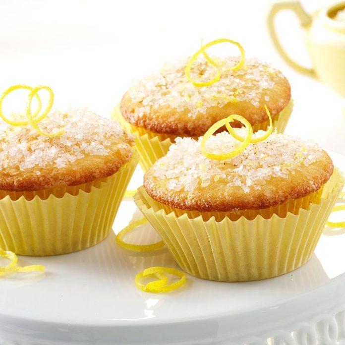 Lemon Sparkle Cupcakes