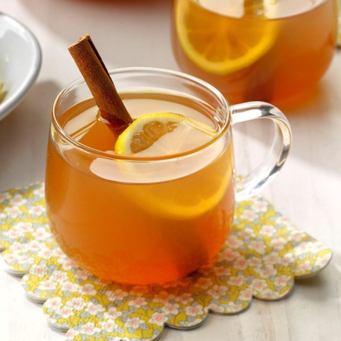 Lemon Spiced Tea