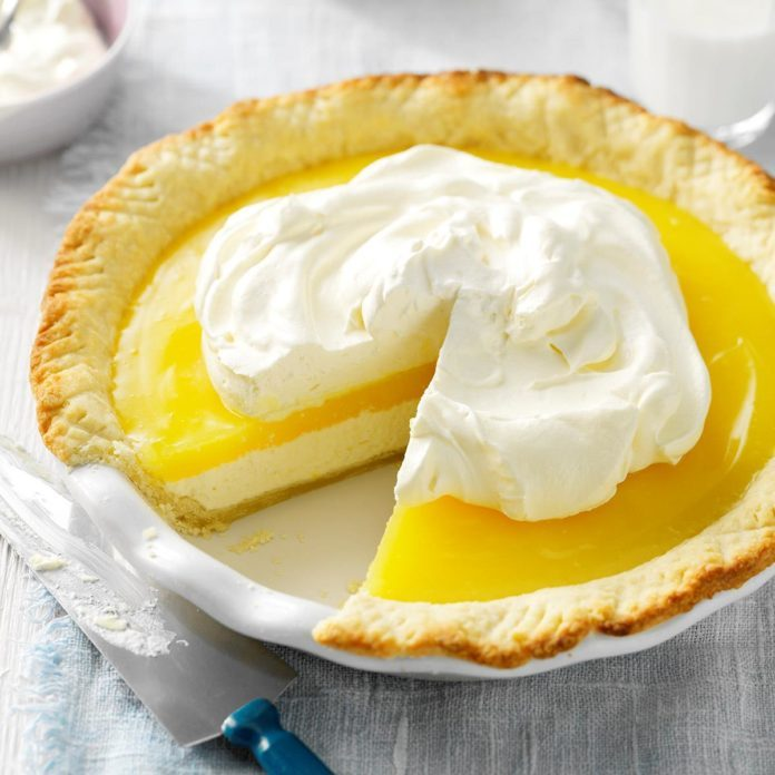 Kansas: Lemon Supreme Pie