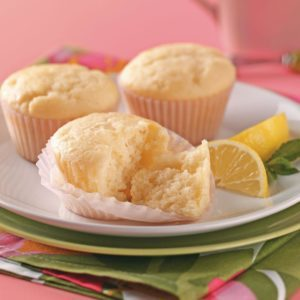 Lemon-Yogurt Tea Cakes