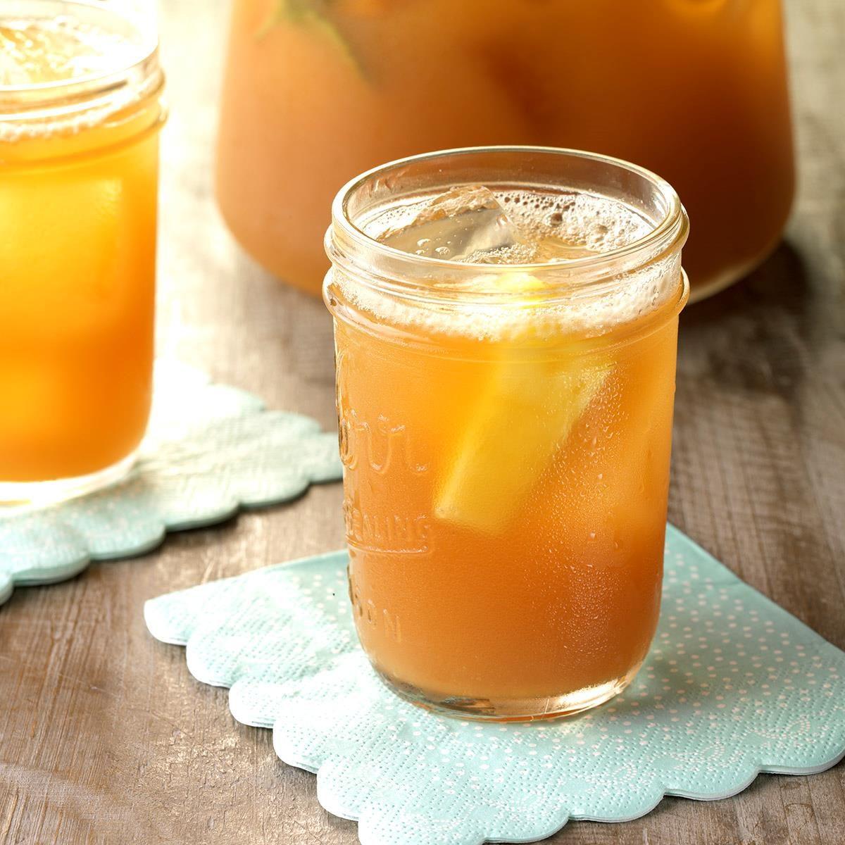 Lemony Pineapple Iced Tea
