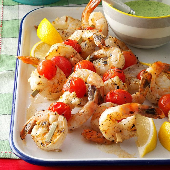 Inspired by: Grilled Shrimp