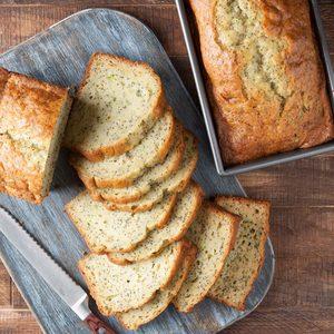 Lemony Zucchini Bread