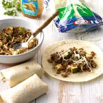 Lentil Burritos