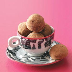 Light Chocolate Truffles