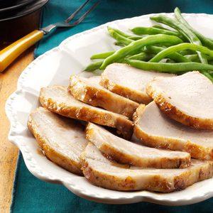 Light Glazed Pork Roast
