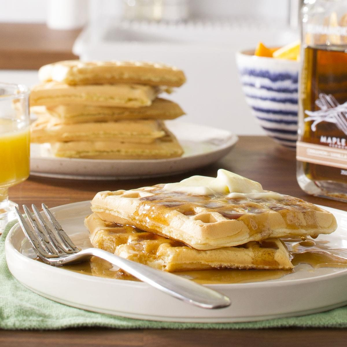 Light and Fluffy Waffles