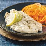 Lime-Marinated Orange Roughy for Two