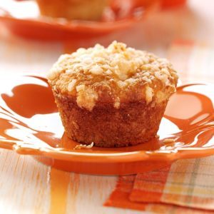 Lime Muffins with Coconut Streusel