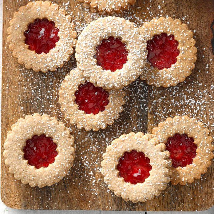 The 1990s: Linzer Cookies