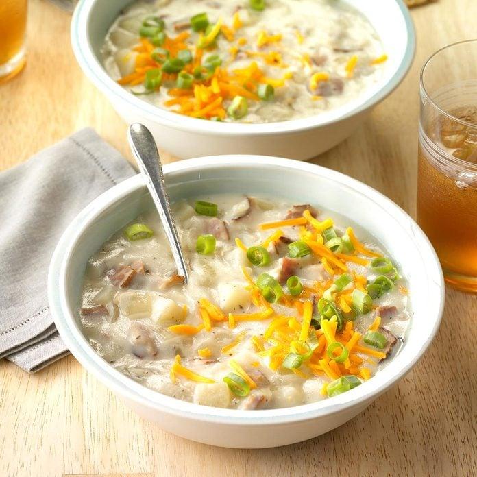 Day 6: Loaded Baked Potato Soup