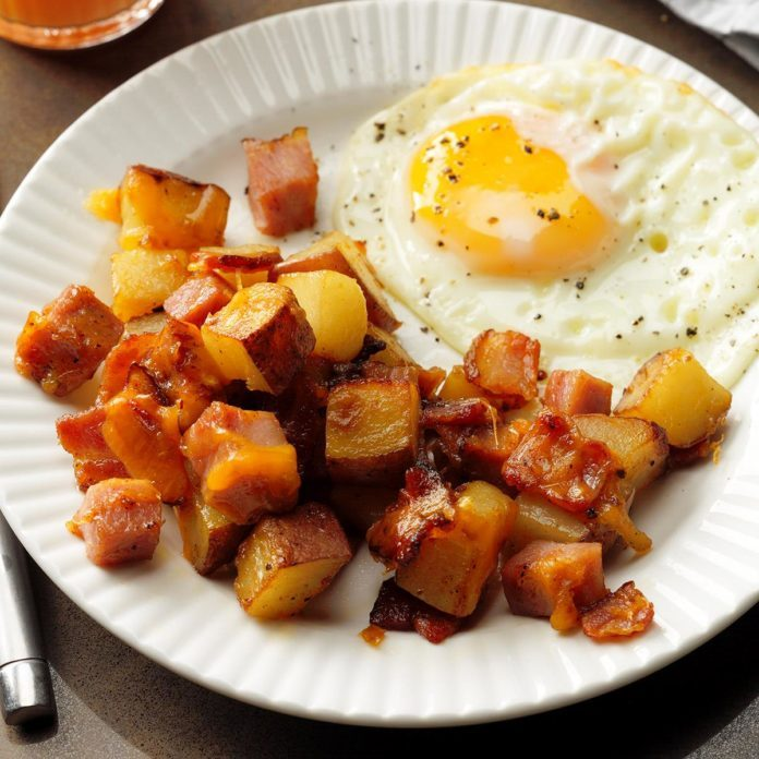 Inspired by: Red Potato Pepper & Onion Hash