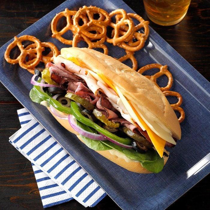 Loaded Deli Sub Sandwich